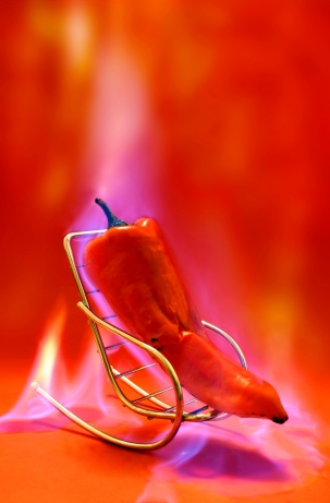Hot Pepper on hot seat